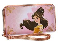 Disney Designer Art of Belle Wallet Beauty and the Beast 2016 pink yellow