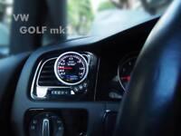 Air Vent Gauge Pod, 52mm or 60mm, Fits VW Golf MK7, Jetta MK7【Top Gauge】