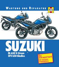 SUZUKI DL 650 V-Strom + SFV 650 Gladius Reparaturanleitung Wartungshandbuch