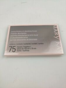 MARY KAY BEAUTY BLOTTERS~OIL ABSORBING TISSUES new in box NIB