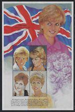Dominica 1997 Princess Diana S/S Sc# 2010 NH