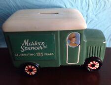 Marks & Spencer porcelain money box van celebrating 125 years
