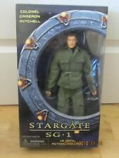 "SELECT STARGATE SG.1 COLONEL CAMERON MITCHELL 12"" ACTION FIGURE DOLL BOXED NEW"
