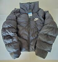 Nike Thermore Synthetic Fill Puffer Jacket Black CD4216-010 Women's Size Medium