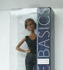 Barbie Basics Model 08 8 Collection 002 2 Denim Jeans Black Label NRFB Muse Doll