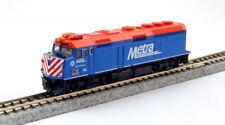"KATO 1769104DCC  N F40PH Chicago Metra 142 w Ditch Lt ""Ravinia"" 176-9104-DCC"