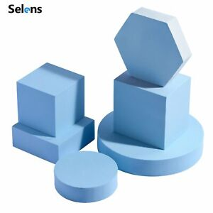 6in1 INS Photography Cube Photo Shooting Foam Geometric Props For Backdrops Kit