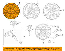 KIA OEM 2017 Soul-Wheel-Alloy Aluminum 52910B2300