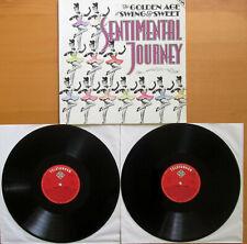 SENTIMENTAL JOURNEY The Golden Age Of Swing & Sweet 2xLP NEAR MINT Gatefold