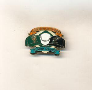Greensboro Grasshoppers & Florida Marlins Minor League Baseball Affiliate Pin