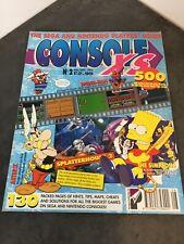 Console XS Magazine Issue 2 1992 - Hints Tips Walkthroughs Cheats Sega Nintendo
