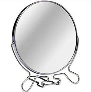 Face Cosmetic Folding Magnify Make Up Travel Vanity Shaving Bath Round Mirror