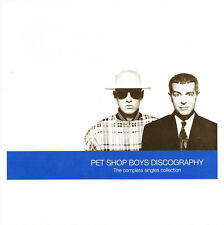 PET SHOP BOYS - DISCOGRAPHY THE COMPLETE SINGLES COLLECTION CD (1991) CDP7979942