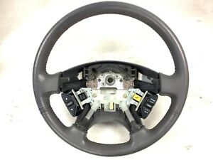 98 99 00 01 02 Accord 4DR EX V6 Steering Wheel Gray Leather Used OEM