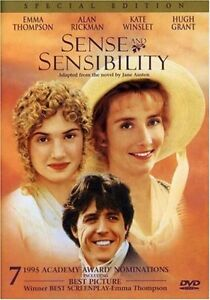 NEW DVD Sense & Sensibility (Special Edition) Emma Thompson Alan Rickman Kate Wi