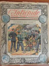 L'INTREPIDE Aventures,voyages, explorations, N°163 Dimanche 29 juin 1913 BE
