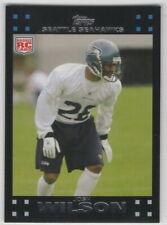 2007 Topps Football Seattle Seahawks Team Set