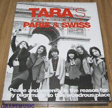 T-ARA TIARA TARA'S Free Time In PARIS & SWISS LIMITED PHOTOBOOK + REMIX CD SET