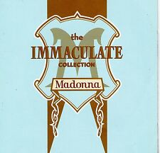 CD 17T MADONNA THE IMMACULATE COLLECTION BEST OF 1990 MADE IN GERMANY TBE