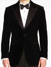 Men Black Tuxedo Smoking Jacket Elegant Stylish Designer Party Wear Blazers