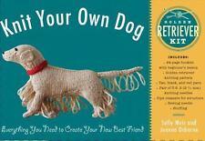 Knit Your Own Dog: Golden Retriever Kit, Osborne, Joanna, Muir, Sally