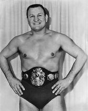 Pro Wrestler GENE KINISKI Glossy 8x10 Photo Wrestling Champion Print AWA Poster