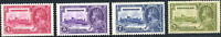 Newfoundland #226-229 mint VF OG NH/HR 1935 KGV Silver Jubilee Issue Set