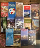 Vintage Road Map Lot of 14 - Atlas Books, Folding Maps