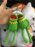 Muppets Kermit the Frog Plush Doll Toy keychain keyring pendant