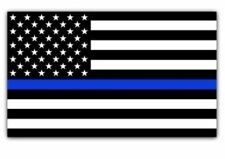 Blue Lives Matter Police USA American Thin Line Flag Car Decal Sticker BUY2GET1F