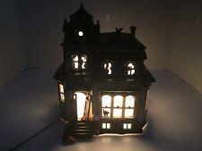 Department 56 Halloween Haunted Mansion 54935 Snow Village 1998 Retired