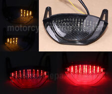 LED Tail Turn Signal Integrated Light Above Exhaust Fit For 07-12 HONDA CBR600RR