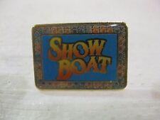 Show Boat Square Pin Very Rare Souvenir                     New          pin2680