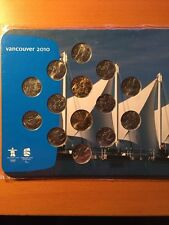 Vancouver 2010 Olympic Winter Games Coin Collection Canada Complete Set Sealed