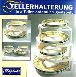 Tellerablage tellerständer tellerhalter Suppenteller Essteller Dessertteller