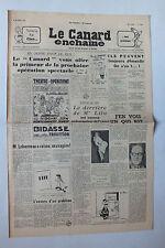 ANCIEN JOURNAL -  LE CANARD ENCHAINE N° 1685 DU 4 FEVRIER 1953 *
