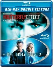 The Butterfly Effect 1 & 2 Director's Cut Dbl Feat (Blu Ray) Disc & Cover Art On