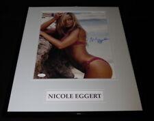Nicole Eggert Signed Framed 11x14 Bikini Photo Poster JSA Charles in Charge