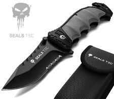 Sealstec® Klappmesser | Survival Taschenmesser | Outdoor Messer | Rettungsmesser
