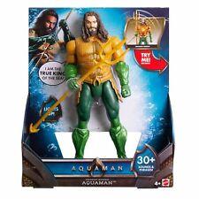DC AQUAMAN Movie 11.5 TRIDENT STRIKE Atlantis Action Figure Sound Boy Girl Light