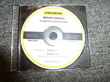 New Holland Model W130B Tier 3 Wheel Loader Shop Service Repair Manual CD
