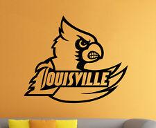 Louisville Cardinals Vinyl Decal Sticker Sport Home Wall Decor NCAA Football