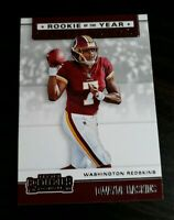 A43 2019 PANINI CONTENDERS FOOTBALL Rookie Of The Year DWAYNE HASKINS RC