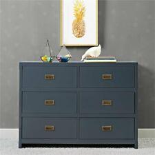 Baby Relax Miles 6 Drawer Dresser in Graphite Blue