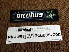 INCUBUS, S.C.I.E.N.C.E.; PR BUMPER STICKERS (2)