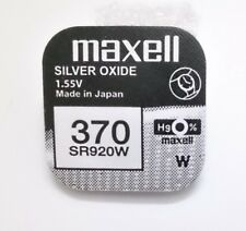 Pila MAXELL 370 - SR920SW - Silver Oxide - Made In Japan - Original