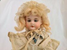 "New ListingAntique Porcelain Bisque Doll 13.5"" Beautiful Germany Dep 193 All Original"
