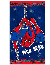 BOYS ULTIMATE SPIDER-MAN SENSE WEB HEAD BEACH / BATH TOWEL GREAT GIFT IDEAS