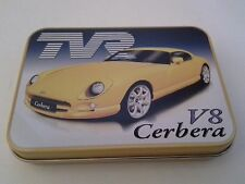 TVR Griffith 500 Offical Merchandise Keepsake Tin Tobacco Mints Trinkets etc
