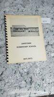 Laketown Elementary School 1971-1972 Yearbook Springfield Illinois 8.27.3